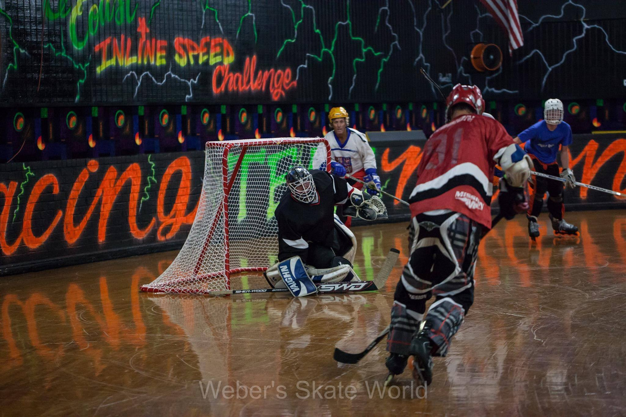 Roller Hockey League – Weber's Skate World – Milton, Florida